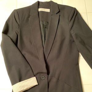 ZARA - black boyfriend blazer